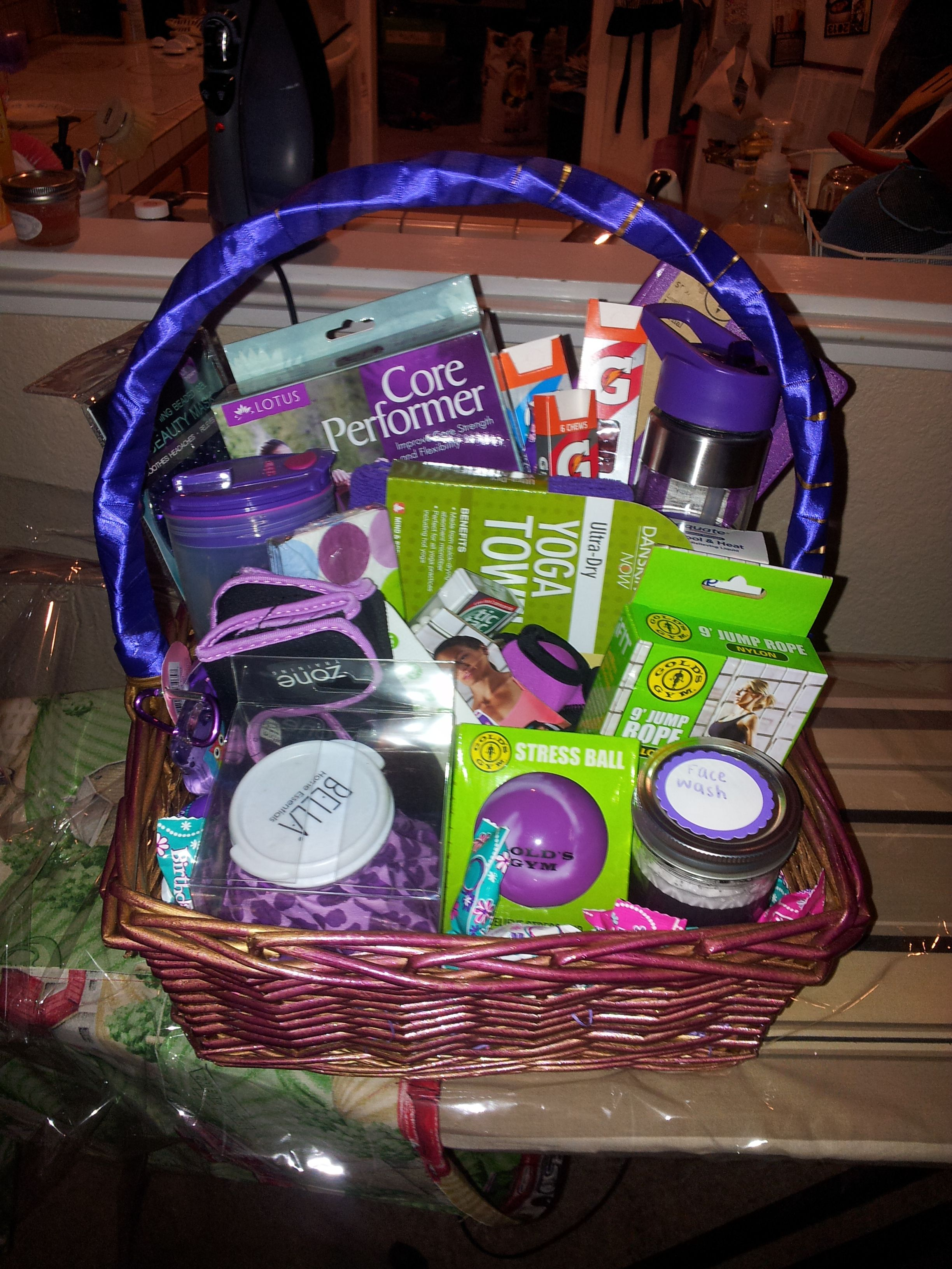 best homemade bridal shower gifts%0A Handling this year u    s  rd Grade Gift Basket Auction  Possible Idea  Fitness