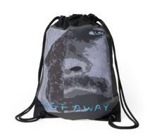 Cast Away Drawstring Bag by scar Design #totebag #buytotebag #bag #gifts #buygifts #giftsforher #groceries #shopping #shoppingbag #buybag #buytotebag #cool #coolgifts #accessories #womenaccessories #beachtotebag #beach #beachbag #summer #summergifts #summerbag