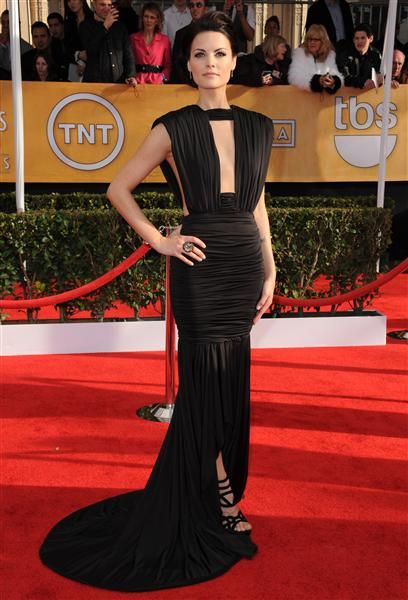 Jaimie Alexander goes without undies in shocking sheer dress with body-flashing cutouts | Story | Wonderwall