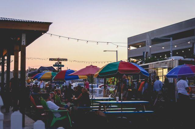 The Hub -- Hampton Roads' 1st permanent FOOD TRUCK park. At the Virginia Beach Oceanfront! #HRVA #virginiabeach