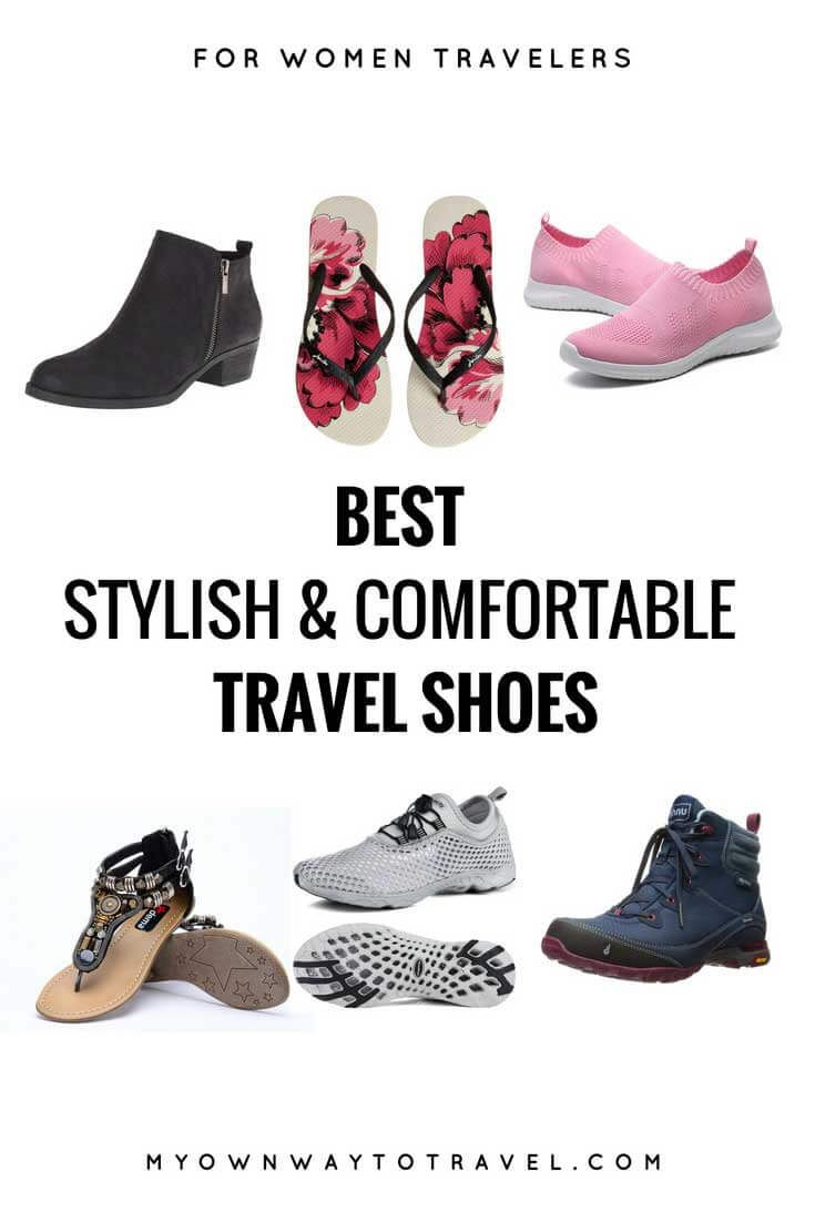 best travel shoes for women (stylish & comfortable) | travel shoes