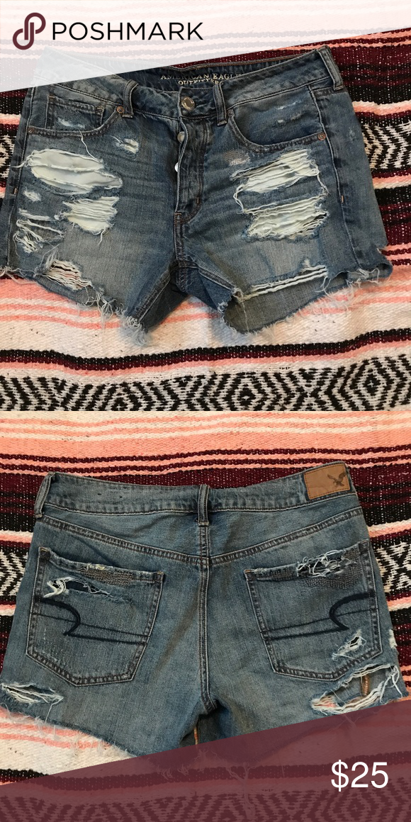 American Eagle Shorts! American Eagle Shorts! Tomgirl fit! American Eagle Outfitters Shorts Jean Shorts