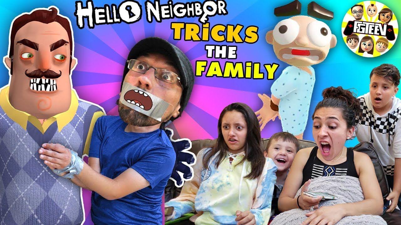 Ronald Playing Roblox Hello Neighbor