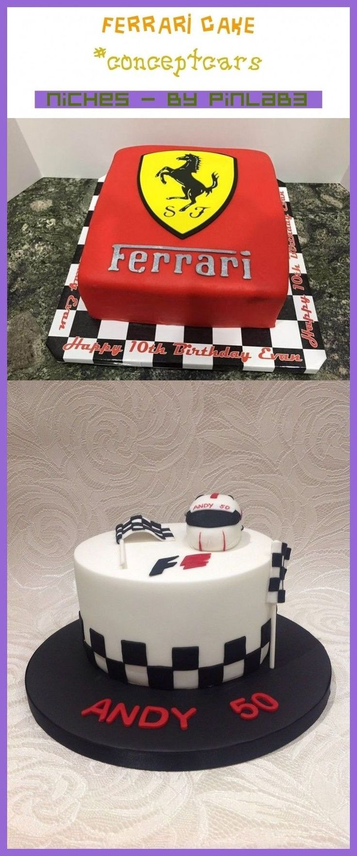 Ferrari Cake Concept Cars