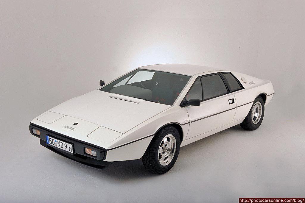 1976 Lotus Esprit S1, designed by Giugiaro