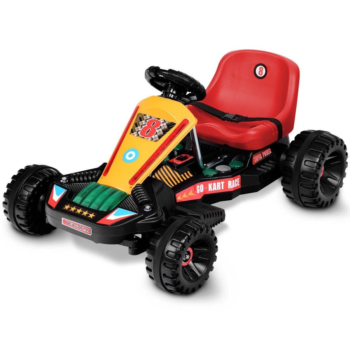 4 Wheels Electric Powered Go Kart Kids Ride on Car Kids