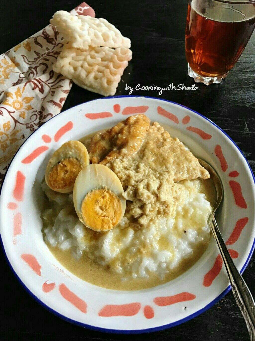 Bubur Areh Makanan Resep Masakan Makanan Dan Minuman