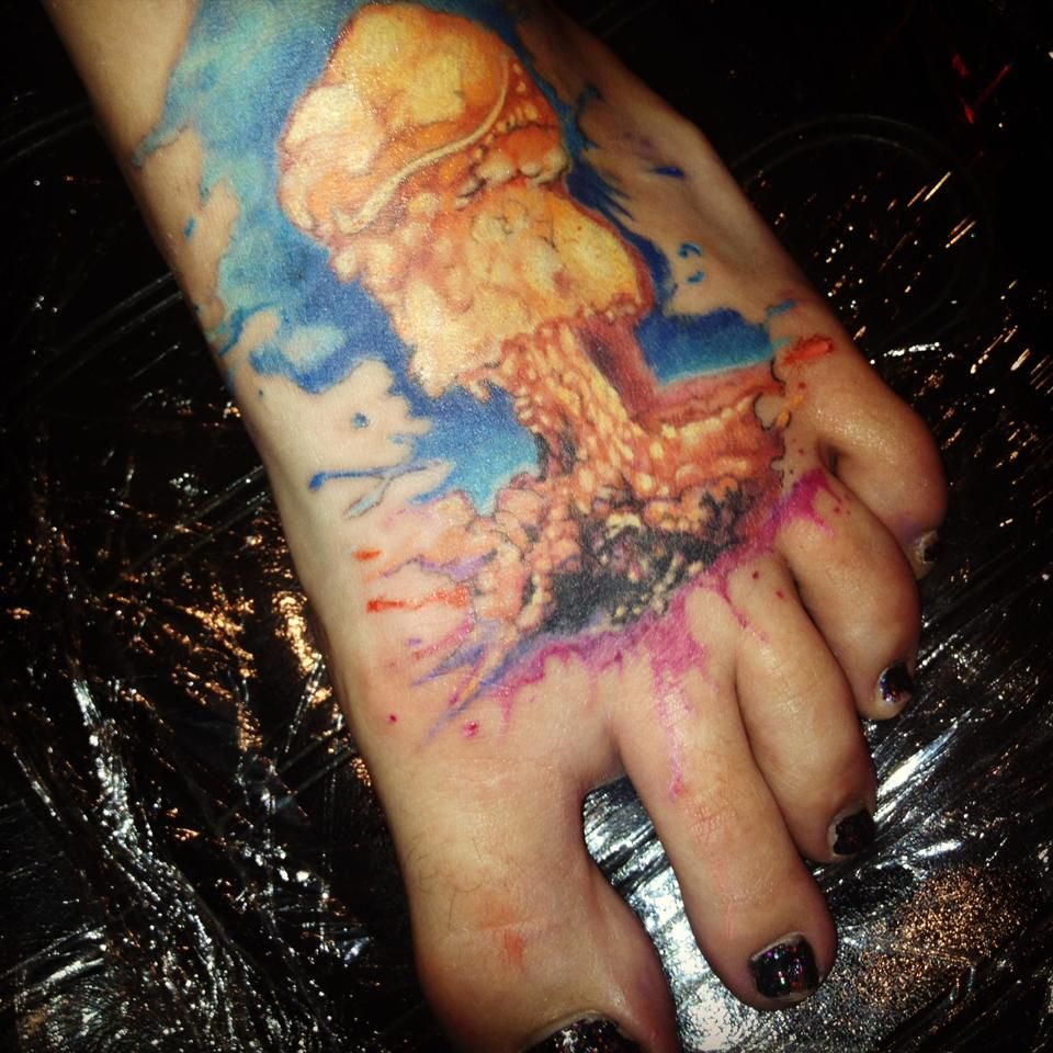 Las vegas tattoo pictures images photos photobucket - Atomic Bomb Tattoo By Audrey At Counts Tattoo In Las Vegas
