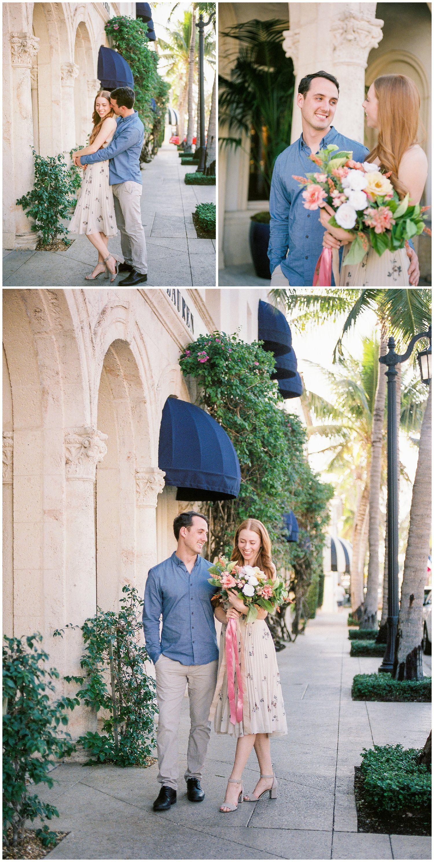 worth ave palm beach fl engagement photographer Orlando