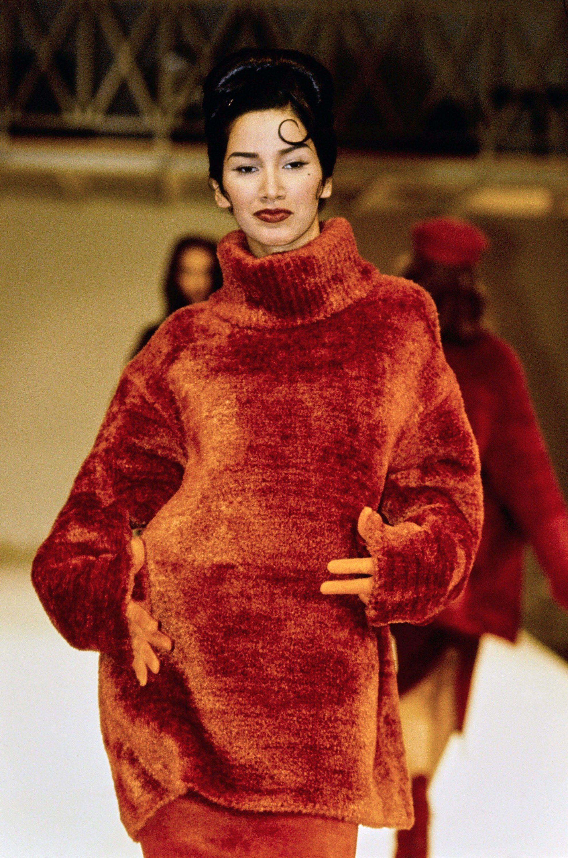Azzedine Alaïa Fall 1991 Ready-to-Wear Fashion Show - Gurmit Kaur