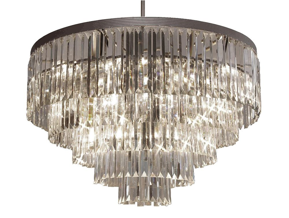 G7 1157 17 Gallery Closeout Odeon Crystal Glass Fringe 5 Tier Chandelier Chandeliers Lighting Flush Chandelier Crystal Chandelier Chandeliers And Pendants