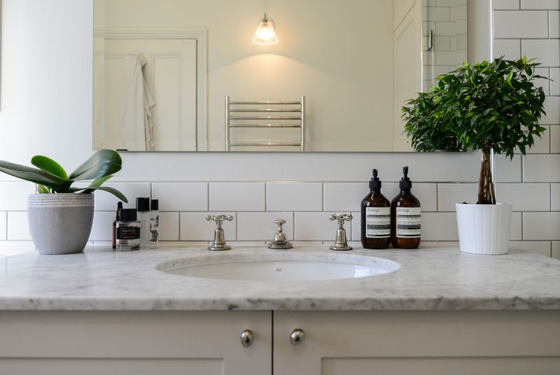 Transitional Bathroom Adamo Family | Home, Transitional ...