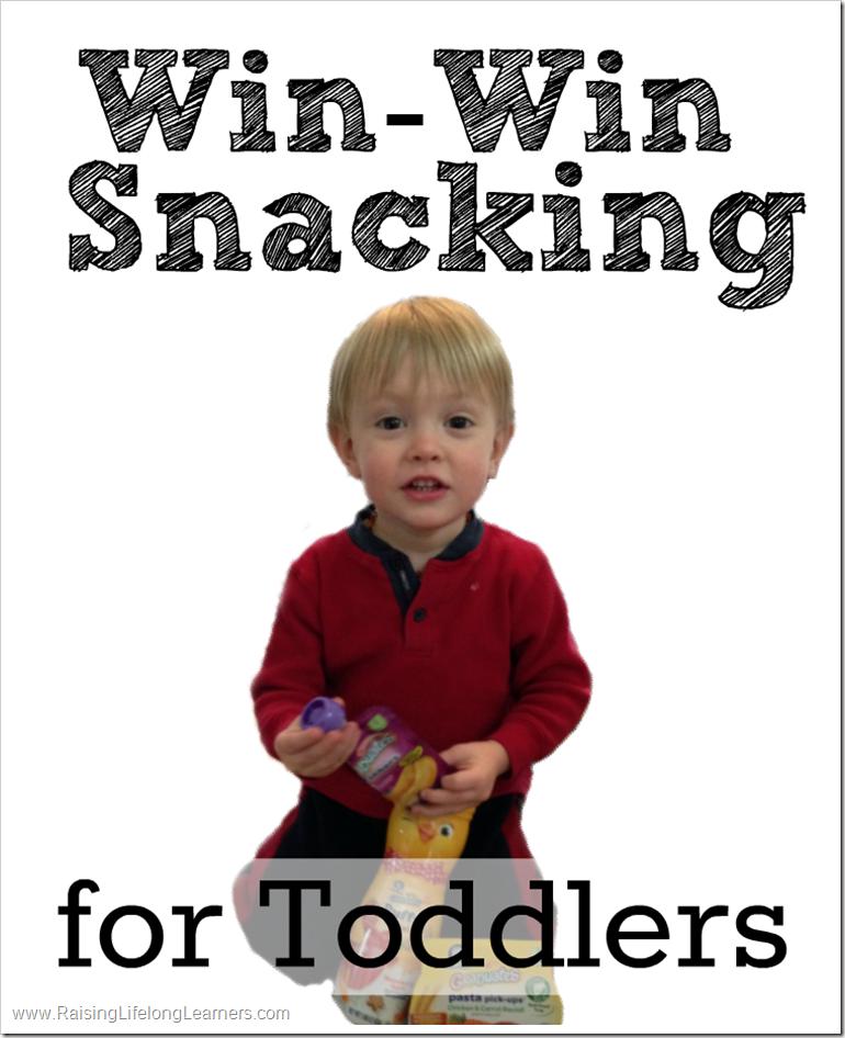 Win-Win Snacking for Toddlers | RaisingLifelongLearners.com #GerberWinWinMoment