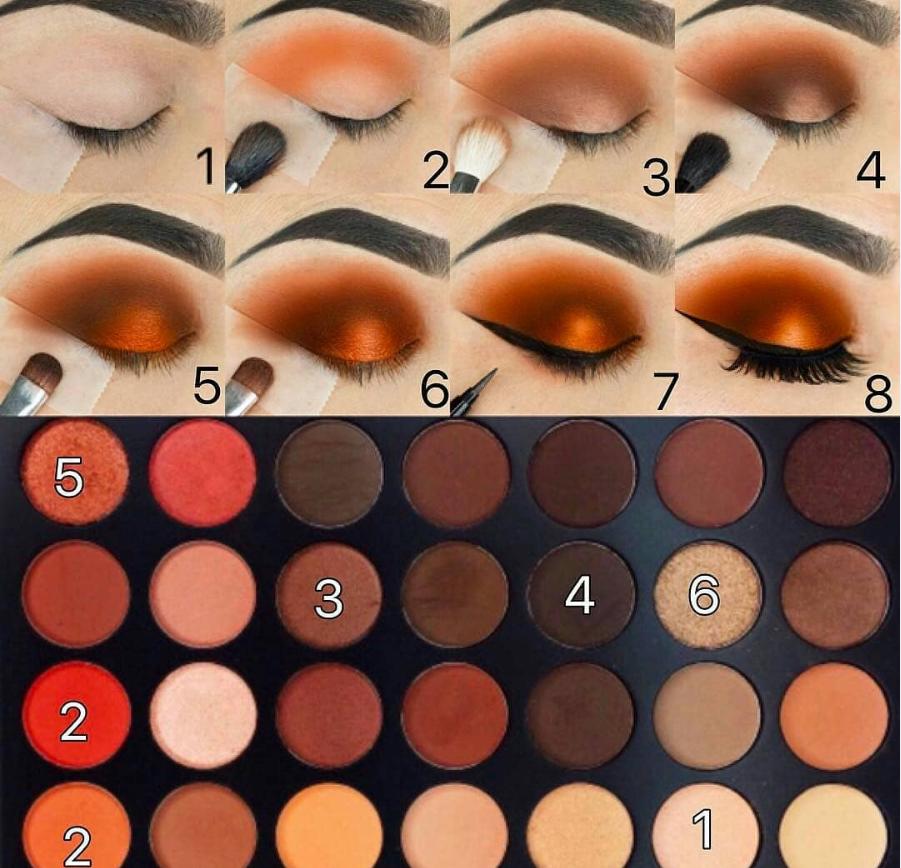 60 Easy Eye Makeup Tutorial For Beginners Step By