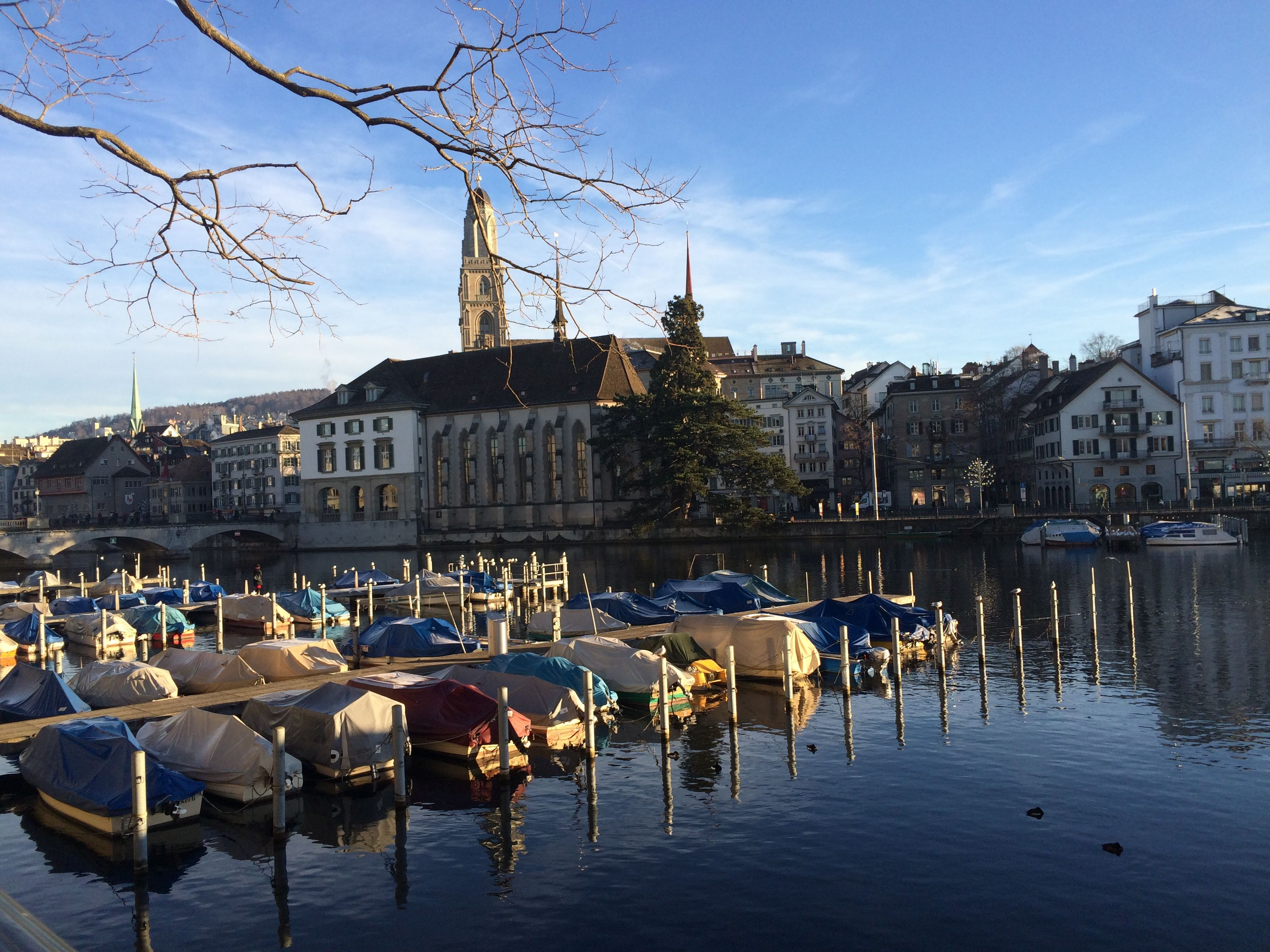 Hallo from Zürich Photo from 23.12.2014