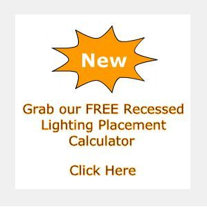 Do you need help placing your recessed lights our recessed lighting do you need help placing your recessed lights our recessed lighting calculator takes away the aloadofball Choice Image
