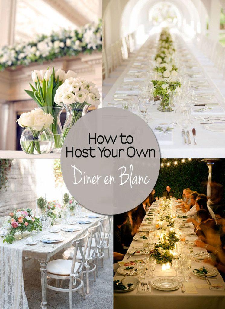 Ein eigenes Diner en blanc organisieren - wertvolle Tipps