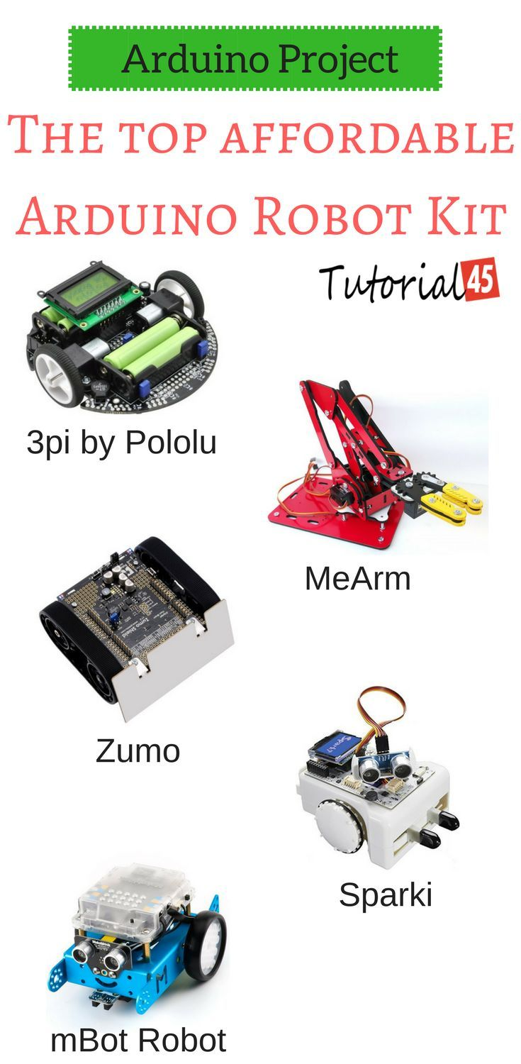 The Top Affordable Arduino Robot Kit Arduino robot