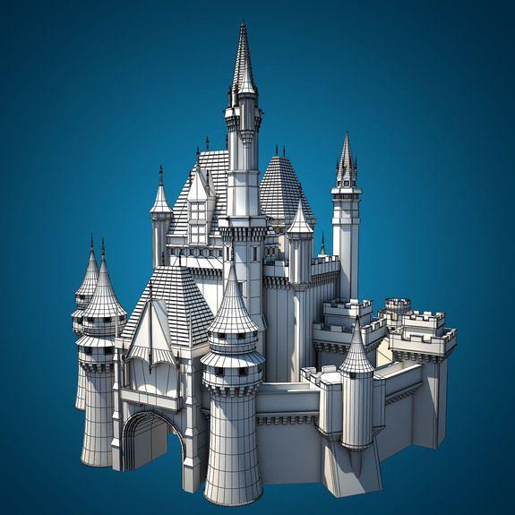 C4d Free Castle 3d Modeling - Google 검색