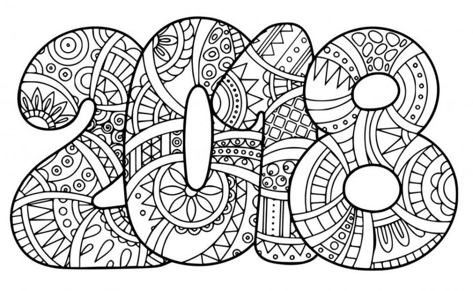 Free Printable New Year Coloring Pages Color Me Caring New Year Coloring Pages Coloring Pages Mermaid Coloring Pages