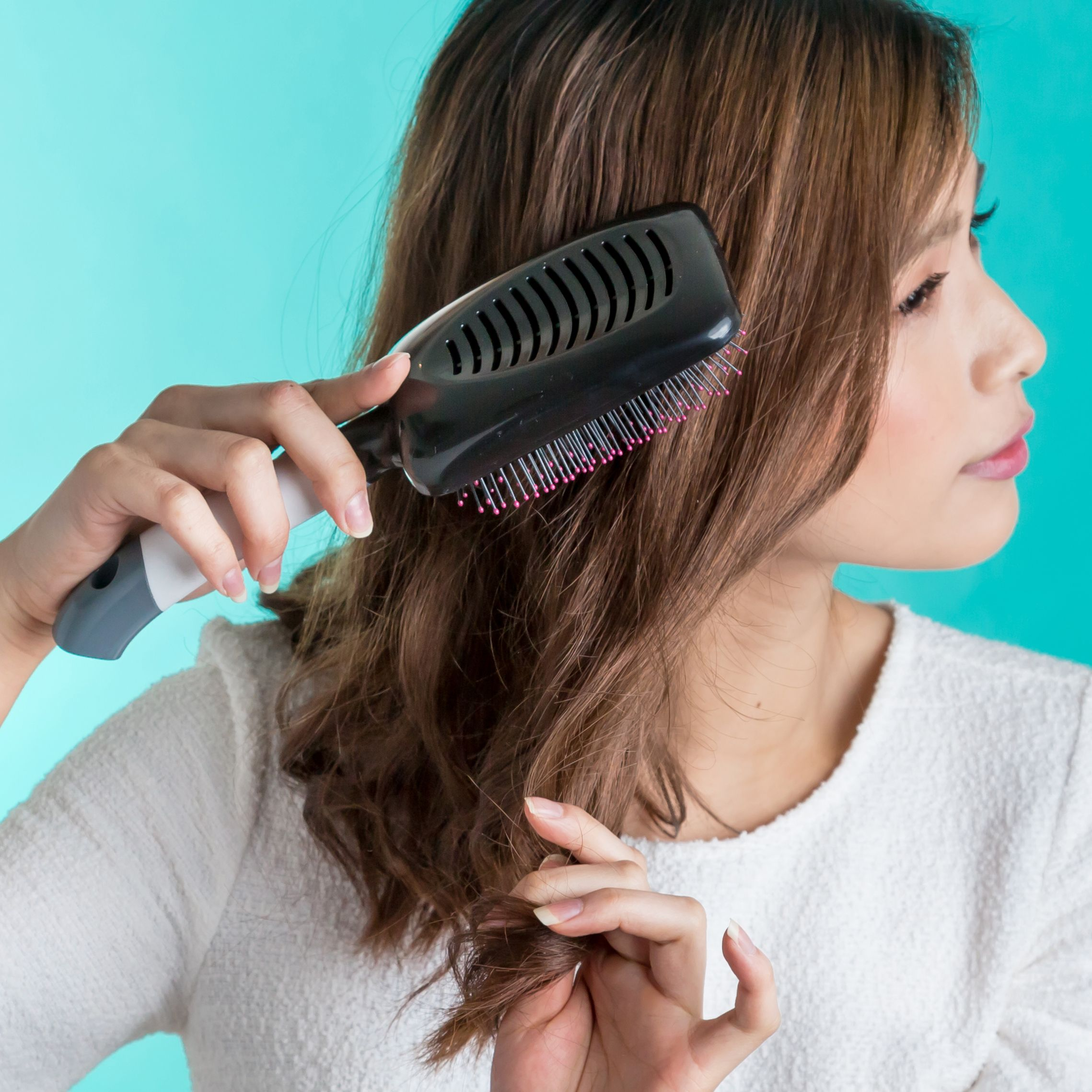 Beauty Hair brush, Smooth hair, Hair care routine