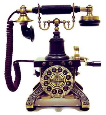 how to make a victorian telephone