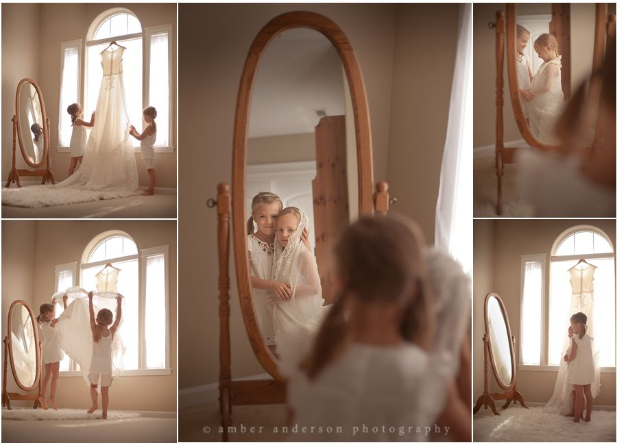 Image detail for -mirror today my sweet baby girls gave me photos of my wedding dress ...