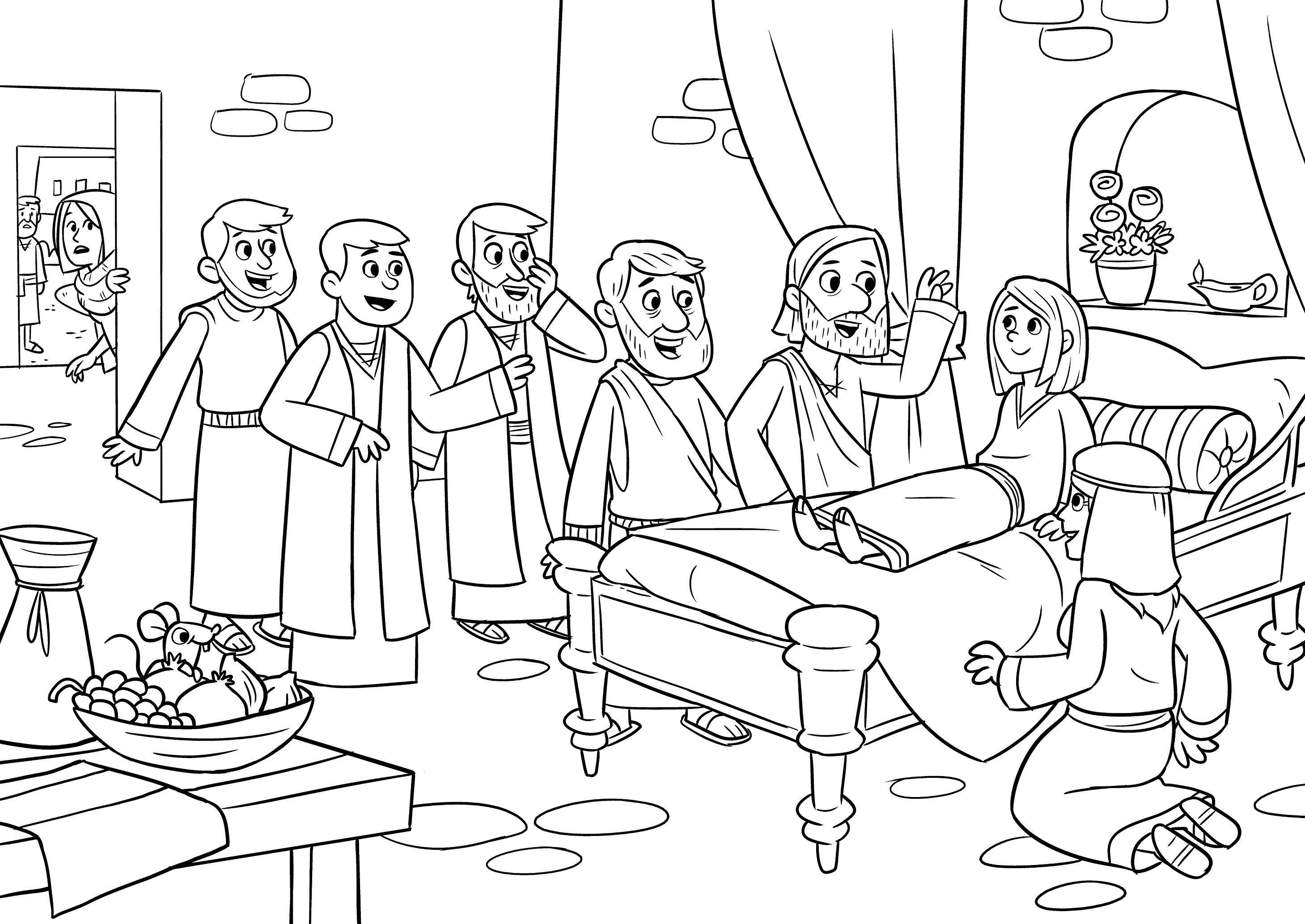 Bible App for Kids Coloring Sheets Manualidades