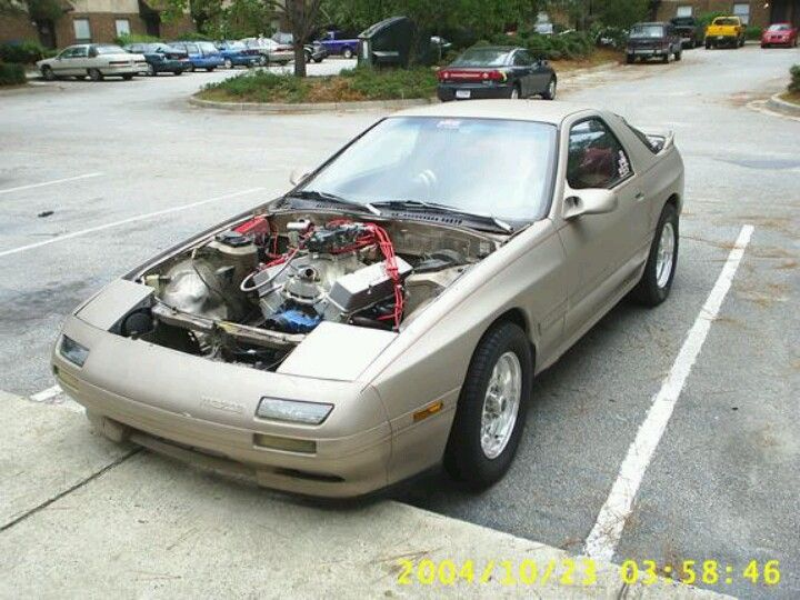 Small block 406 Chevy swapped rx7    Auto    Rx7, Chevy