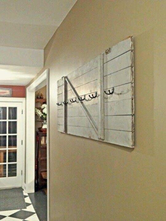 Old Door Decor Doors Repurposed, Old Wooden Door Coat Rack