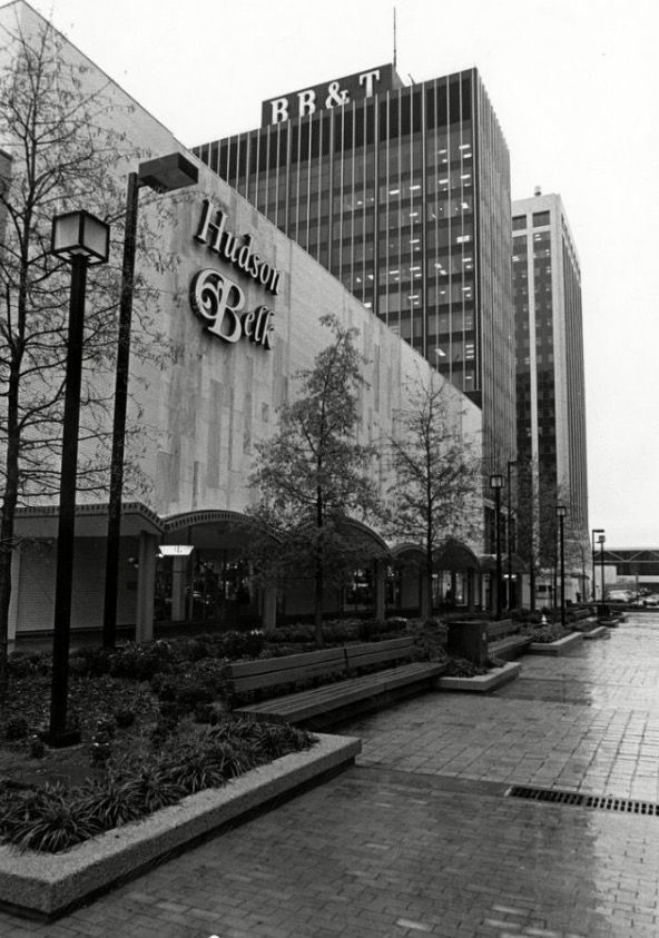 Hudson Belk Fayetteville Street Mall North Carolina Homes Raleigh North Carolina North Carolina