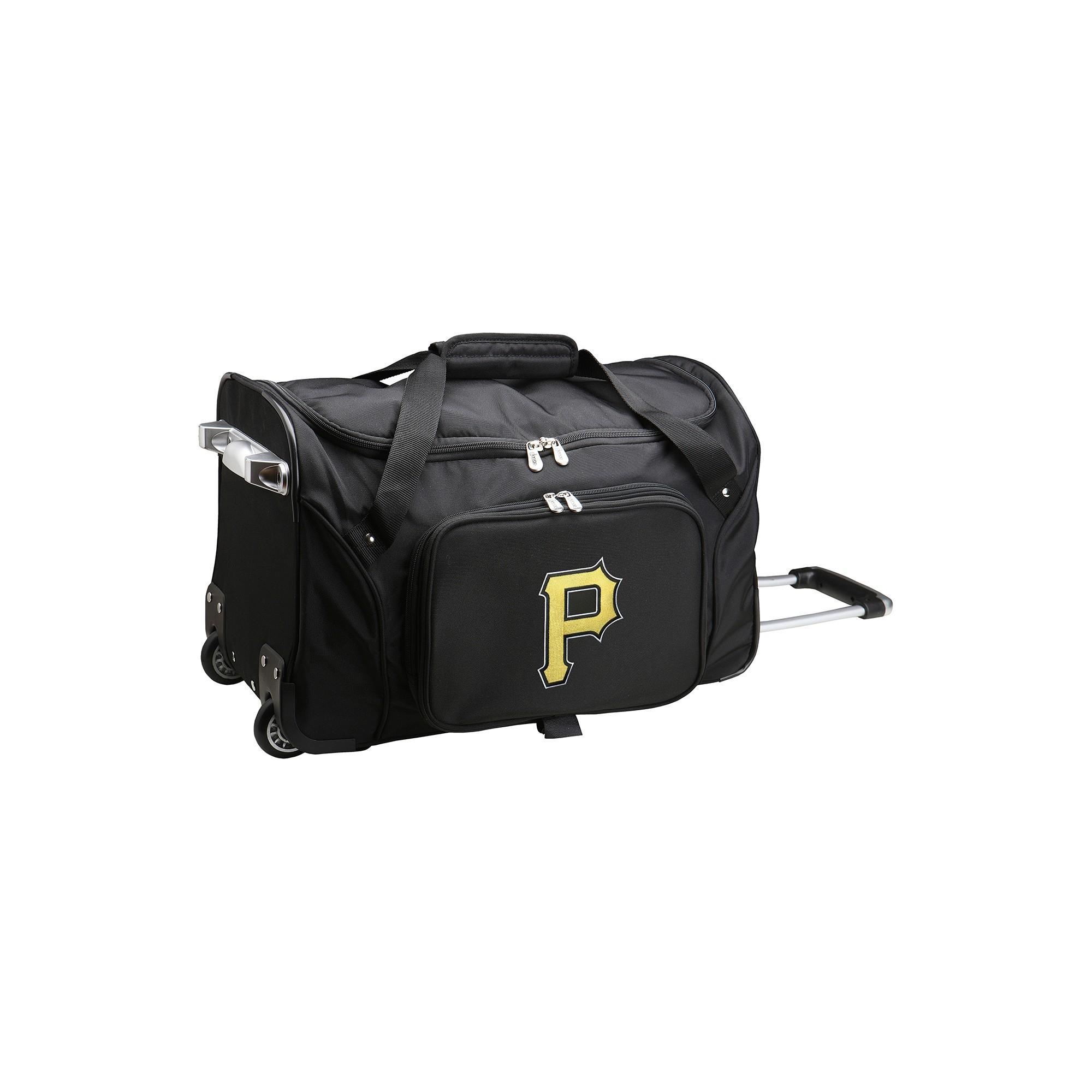 Mlb Pittsburgh Pirates 22 Rolling Duffel