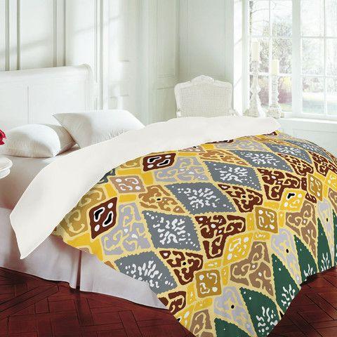 Romi Vega Diamond Tile Duvet Cover - DENY designs.com