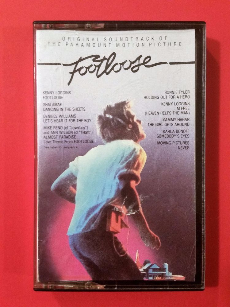 Details About Footloose Cassette Tape Original Motion Picture