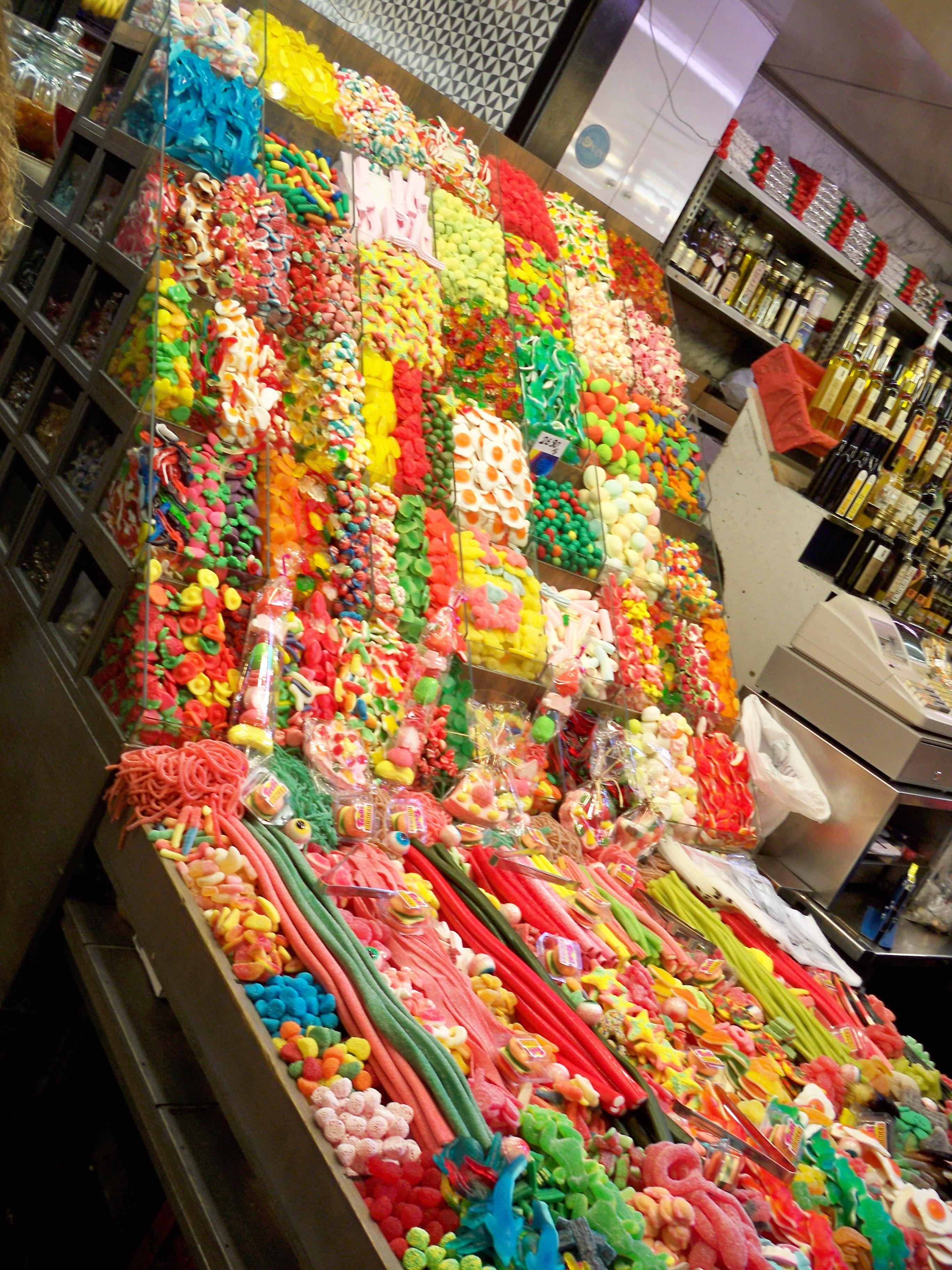 el cielo para los que gustan de los dulces - La Boqueria, Barcelona