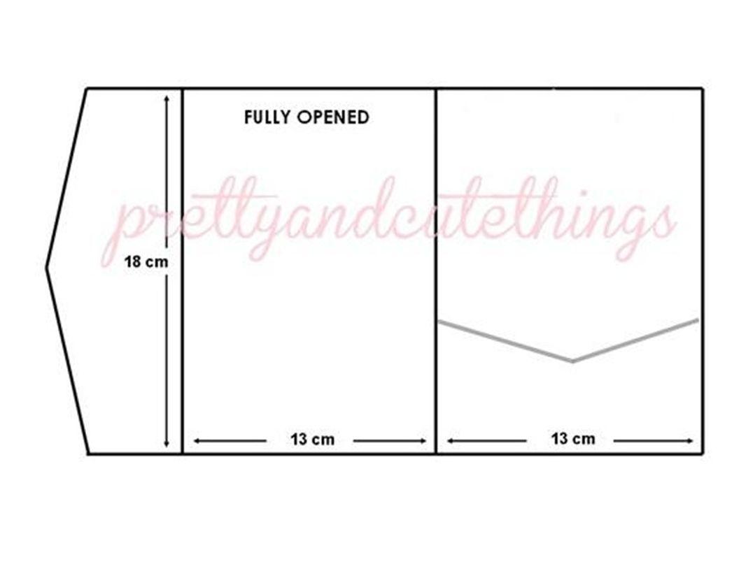 kraft wedding invitations diy pocketfold envelopes box