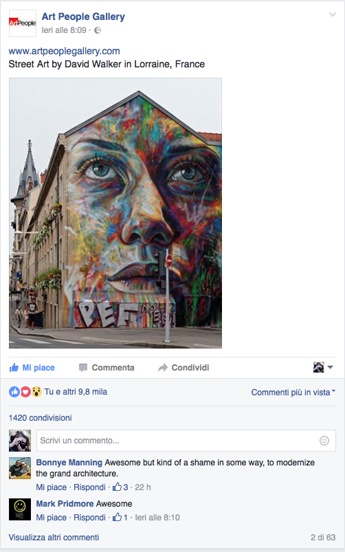 My portraits by the street artist DAVID WALKER  on the important artistic platform  ART PEOPLE GALLERY.   http://www.artpeoplegallery.com/