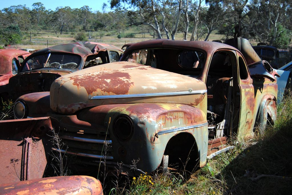 1946 Ford Ute Australian Vintage Abandoned Cars Rust In Peace