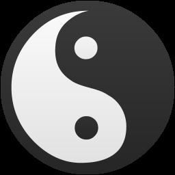 Yin Yang True False Icon Flatastic 9 Iconset Custom Icon Design Custom Icons Yin Yang Icon Design