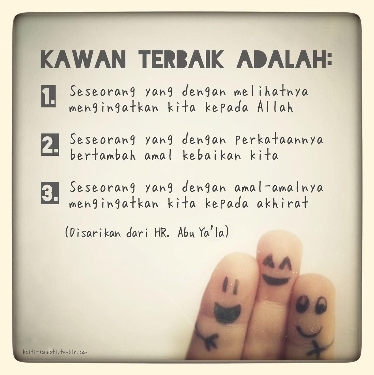 kawan terbaik quotes rindu islamic quotes learn islam