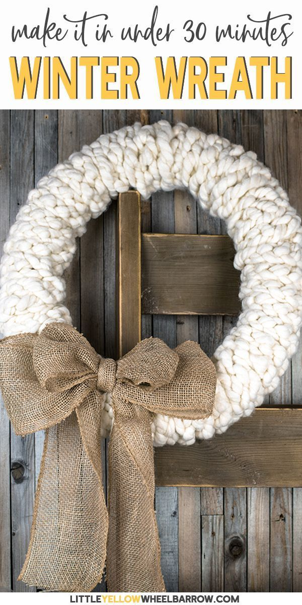 59 Incredibly Simple Rustic Décor Ideas That Can Make Your: A Rustic Wreath You Can Make In Under 30 Minutes