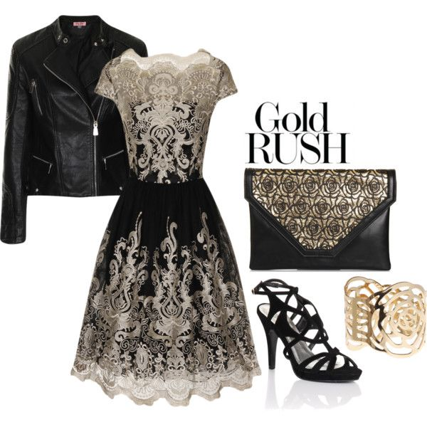 Gold Rush | Gold rush, Gold lace and Chi chi