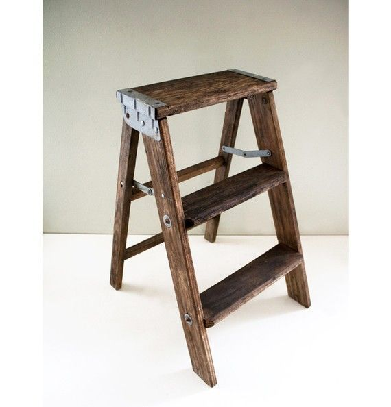 wooden ladderseymour uses when cleaning woodwork in shop