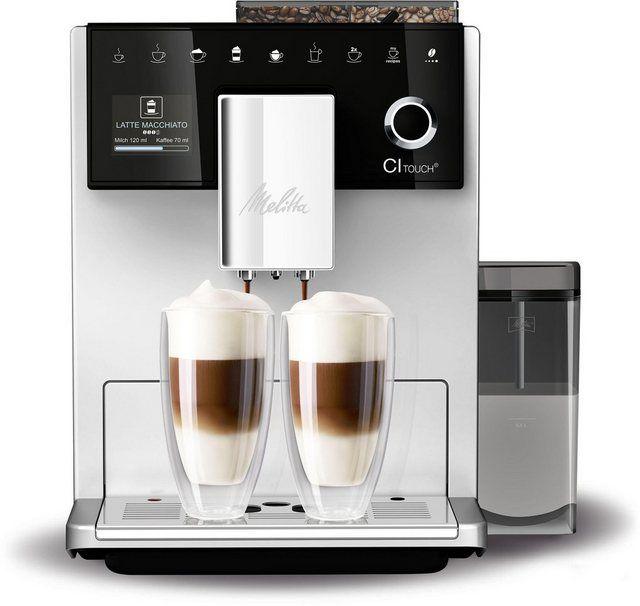 Kaffeevollautomat Ci Touch F 630 101 Silberfarben Schwarz In 2020 Kaffeevollautomat Kaffee Und Filterkaffeemaschine