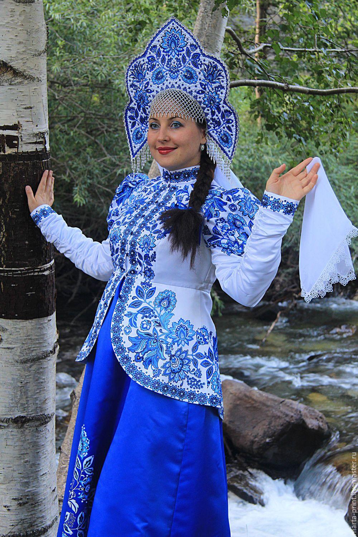 русский народный костюм, танцевальный костюм, народный ...