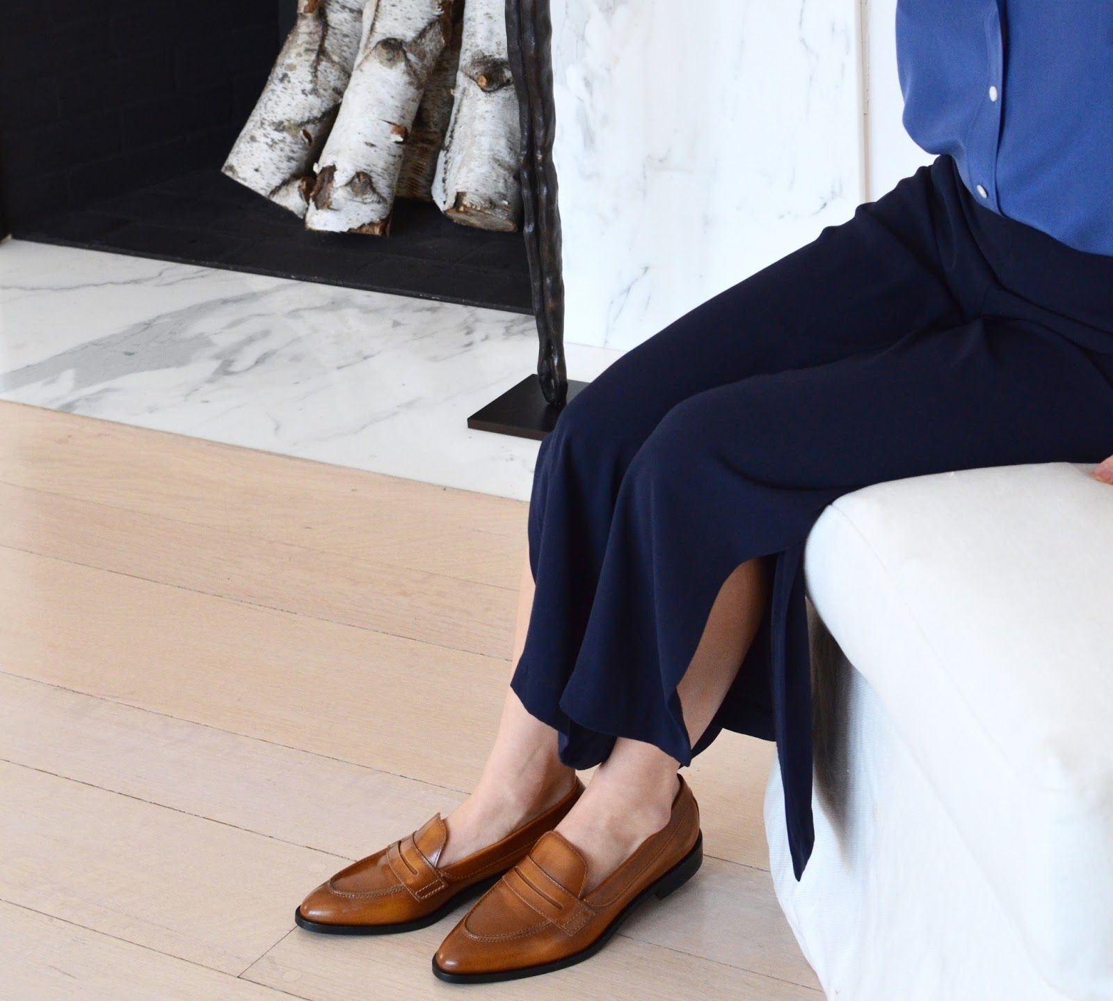everlane modern penny loafer review photos
