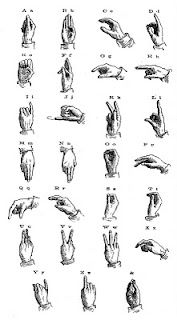 The Vintage Moth Vintage Illustration Sign Language Vintage Illustration Sign Language Sign Language Alphabet