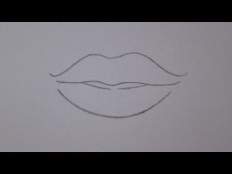 How To Draw Smiling Lips Step By Step Easily Youtube Como