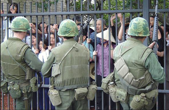 usmc embassy guards in saigon 1975
