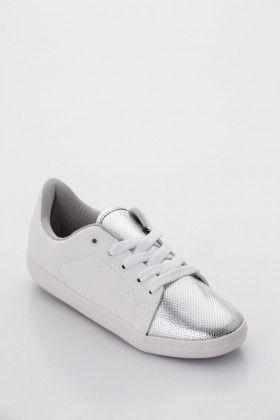 ec72c6a35b Fehér/Ezüst Beira Rio Conforto Női Utcai cipő   Fashion   Cipők, Női ...